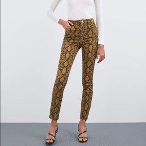 New Zara High Rise Skinny Jeans Pants 8